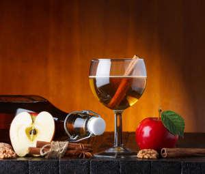 apple cider still life