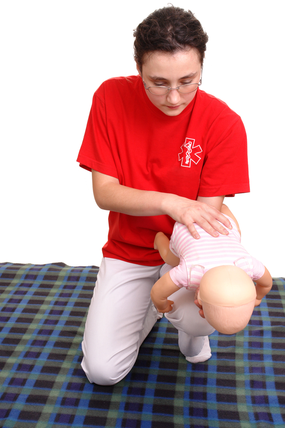 Infant suffocation rescue demonstration