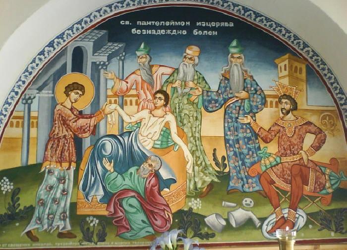 Святой Пантелеймон-целитель 2