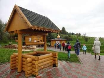 святой источник князя Владимира в Сартаково
