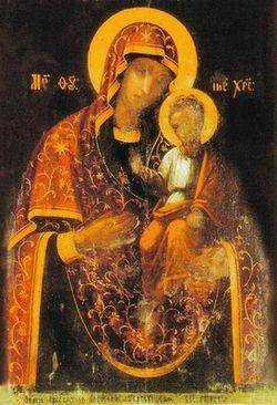 Гербовецкая икона Божией Матери (Изображение с сайта wikipedia.org)