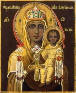 Влахернская икона Богоматери (Изображение с сайта vidania.ru)