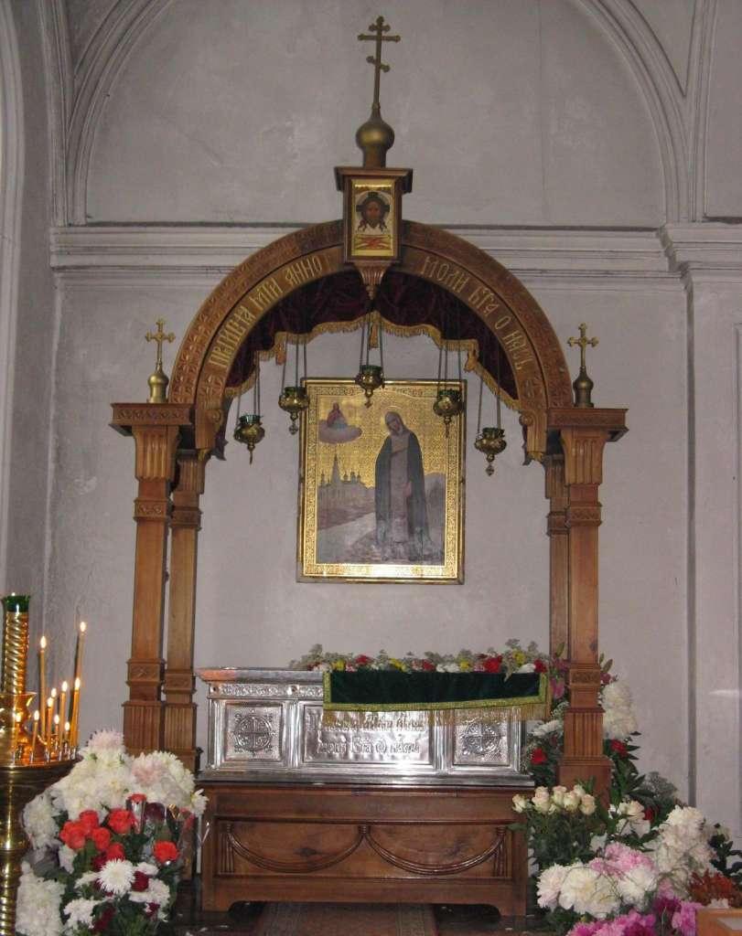 мощи св Анны Кашинской