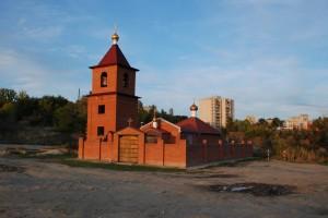 Храм Иоанна Богослова рядом с источником (Фото с сайта volgaprav.ru)