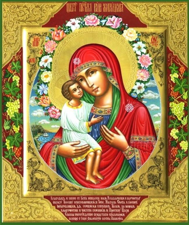 Икона Пресвятой Богородицы Жировицкая (Фото с сайта alchevskpravoslavniy.ru)