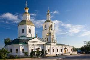 Казанский храм в Дивеево, где хранятся мощи Блаженной Пелагеи (Фото с сайта diveevo.ucoz.org)