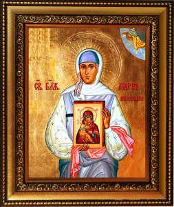 Икона Блж. Марии Дивеевской (Изображение с сайта .insales.ru)