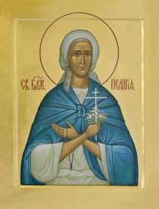 Образ Св. Блж. Пелагеи Дивеевской (Изображение с сайта diveevodom.ru)