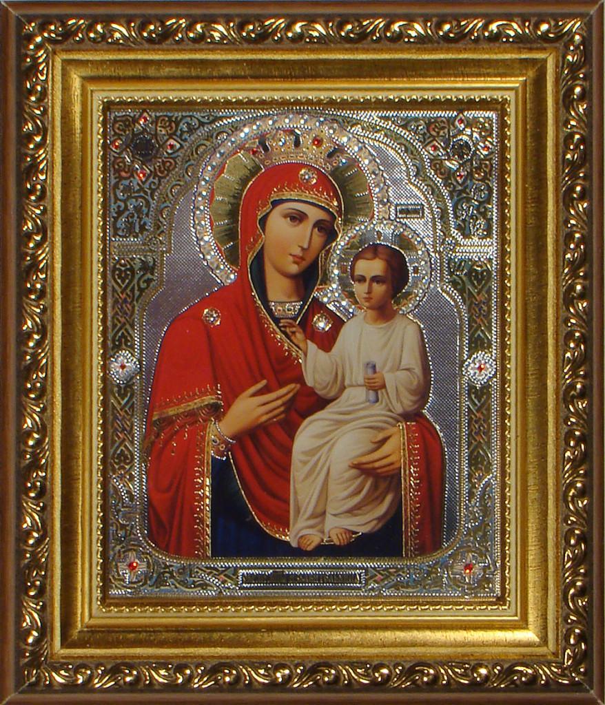 "Икона Божией Матери ""Избавительница"" (Изображение с сайта azbuka.ru)"