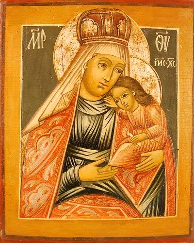 Ташлинская икона Божией Матери (Изображение с сайта fotki.yandex.ru)