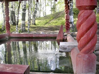 """Источник """"Белое озеро"""" Фото с сайта ustyanskievesti.ru"""
