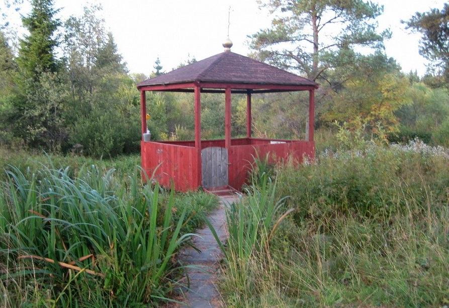 Святой источник в городе Кувшиново Фото с сайта liveinternet.ru