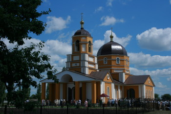 Храм в Афанасьевке Фото с сайта afanasievka.prihod.ru