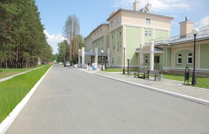 """Санаторий """"Ахматанка"""" Фото с сайта uralweb.ru"""