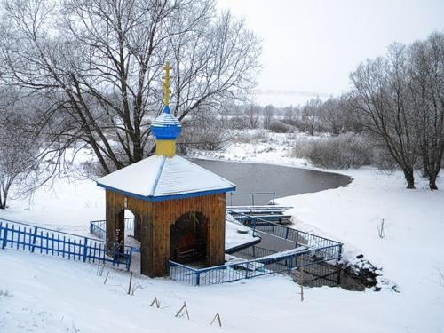Источник Иоанна Богослова в Богословке Фото с сайта fotki.yandex.ru