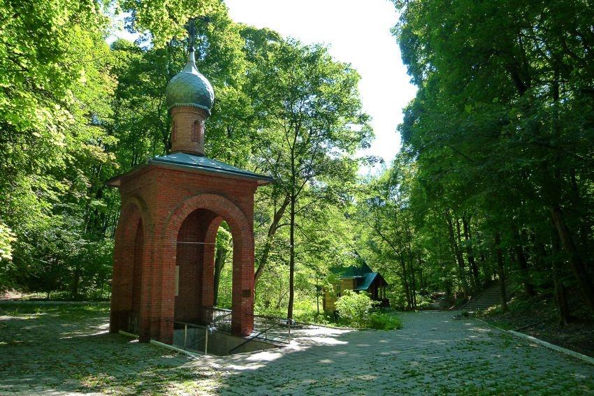 Святой источник в честь Корсунской иконы Богоматери Фото с сайта peremenka31.ru