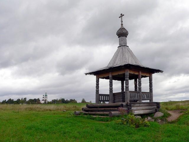 Источник чудотворной иконы Колоцкой Матери Божией Фото с сайта vidania.ru