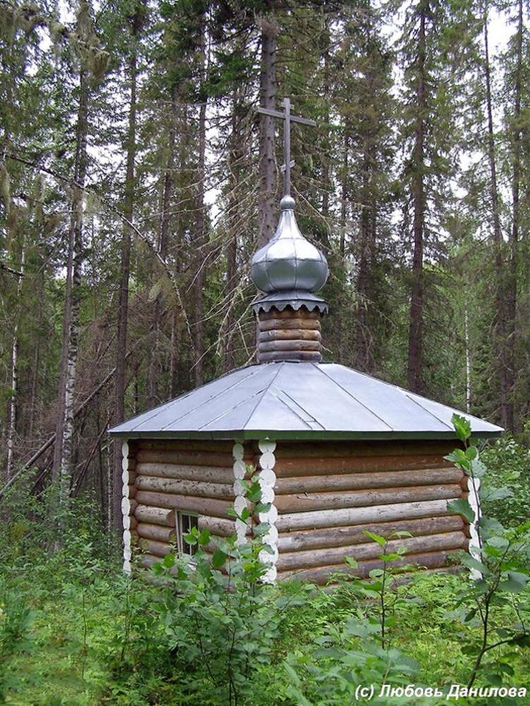Часовня рядом с источником Прокопия Праведного Фото с сайта turvu.ru
