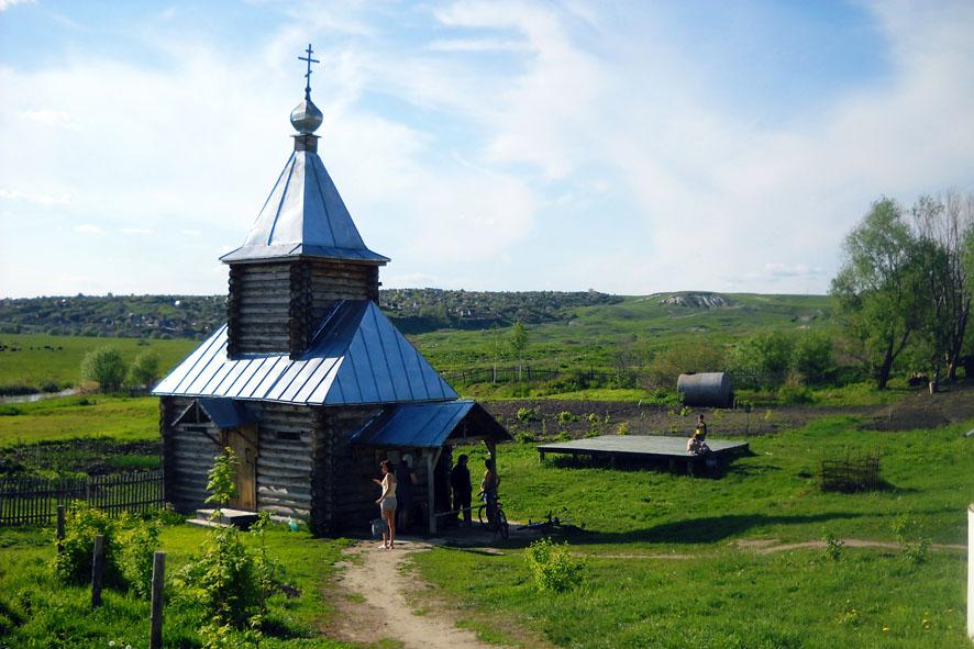 Источник св. Ксении Петербургской. Арское Фото с сайта parkovka.pro