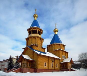 Церковь в селе Весёлое Фото с сайта fotki.yandex.ru