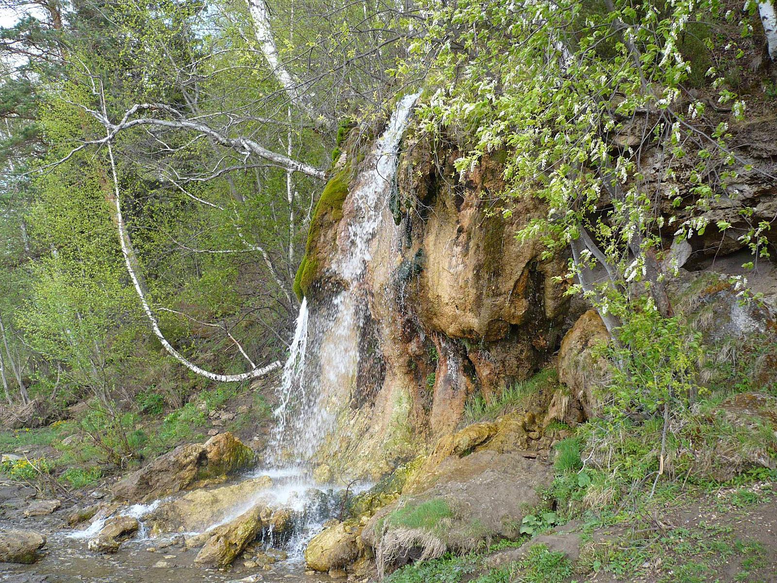 """Водопад """"Плакун"""" Фото с сайта vodopads.ru"""