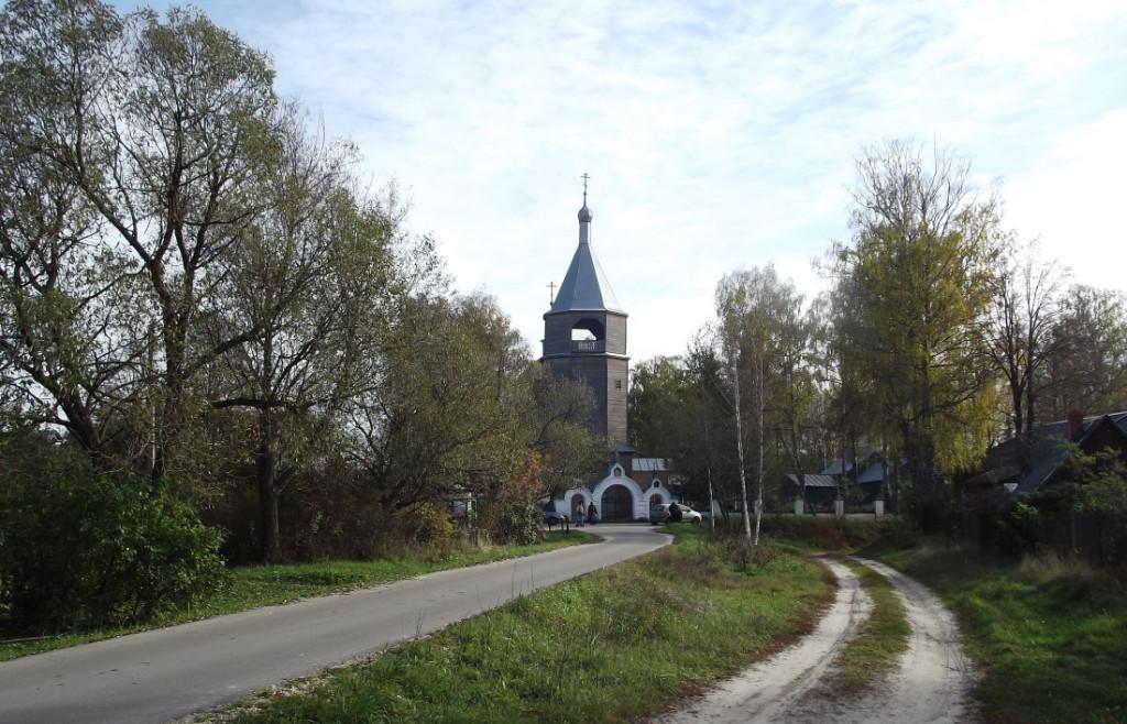 Вид на село Рудня-Никитское ФОто с сайта www.levinnic.ru