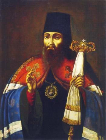 Прижизненный портрет святителя Тихона Фото с сайта mpda.ru