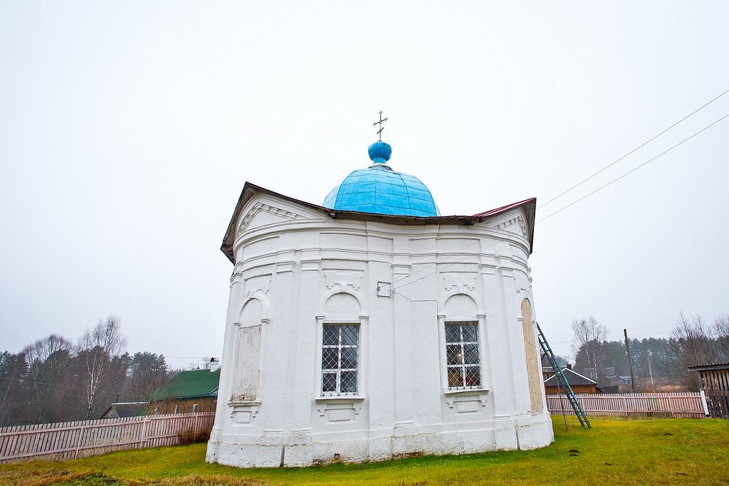 Храм села Миголощи Фото с сайта 53news.ru