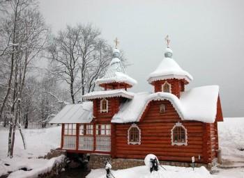 Источник св. Пантелеимона в Каложицах Фото с сайта hram-ckb1rzd.prihod.ru