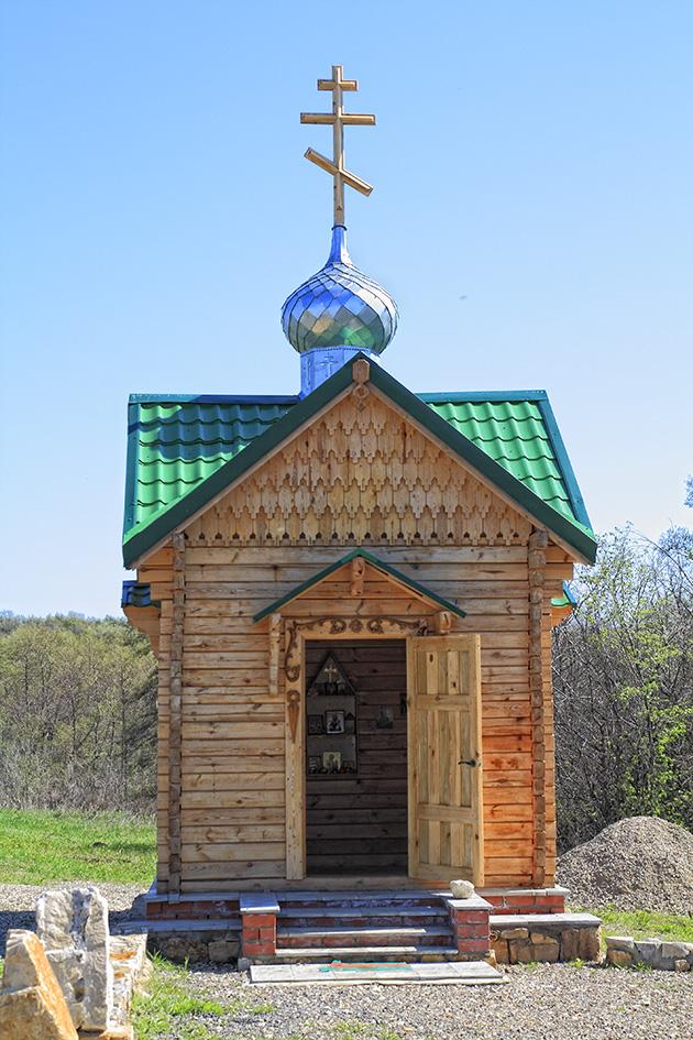 Надкладезная часовня Ольгиного родника Фото с сайта geocaching.su