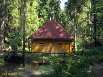 Святой Печерский источник. Турово Фото с сайта town812.ru