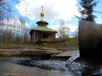 Живоносный источник в деревне Коростынь Фото с сайта town812.ru