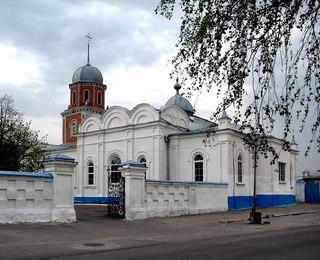 Храм в селе Заосередные Сады Фото с сайта vk.com