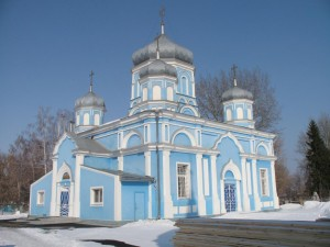 Успенский храм города Бобров Фото с сайта but-blagochinie.ucoz.ru