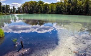 Серное озеро Фото с сайта hellosamara.ru