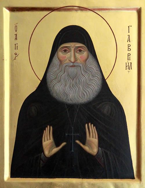 Преподобный Гавриил (Ургебадзе) Фото с сайта pravoslavie.ru