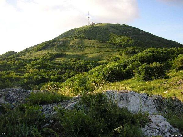 Гора Горячая Фото с сайта kmvrodnik.ru