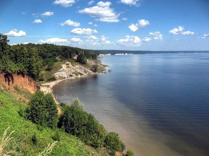Село Ундоры. Вид на водохранилище Фото с сайта undora.ru