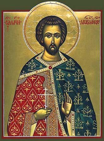 Авраамий Болгарский (современная икона)
