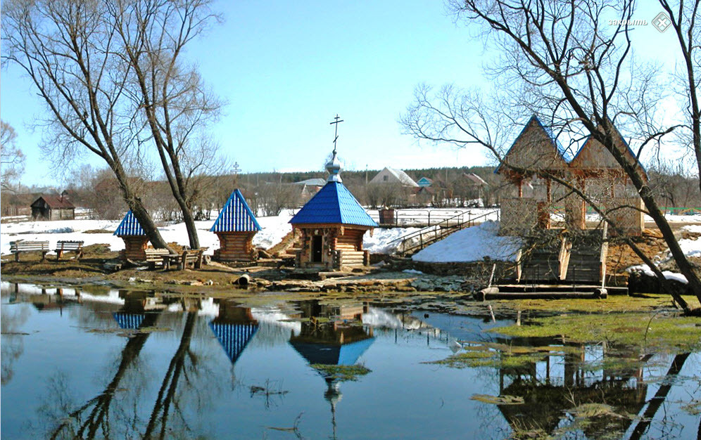 Белый ключ в Пензенскоой области Фото с сайта russian-church.ru