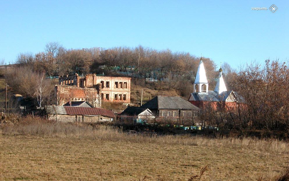 Вид на монастырь Фото с сайта .russian-church.ru