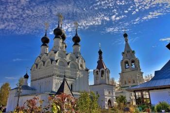 Свято-Троицкий женский монастырь в Муроме Фото с сайта fotkidepo.ru