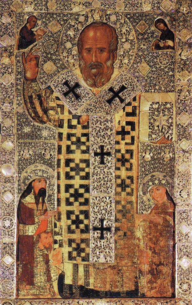 Икона святителя Николая в храме в Бари Фото с сайта pravmir.ru