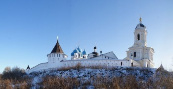 Серпуховский Владычный Введенский женский монастырь Фото с сайта artrussianpainter.com